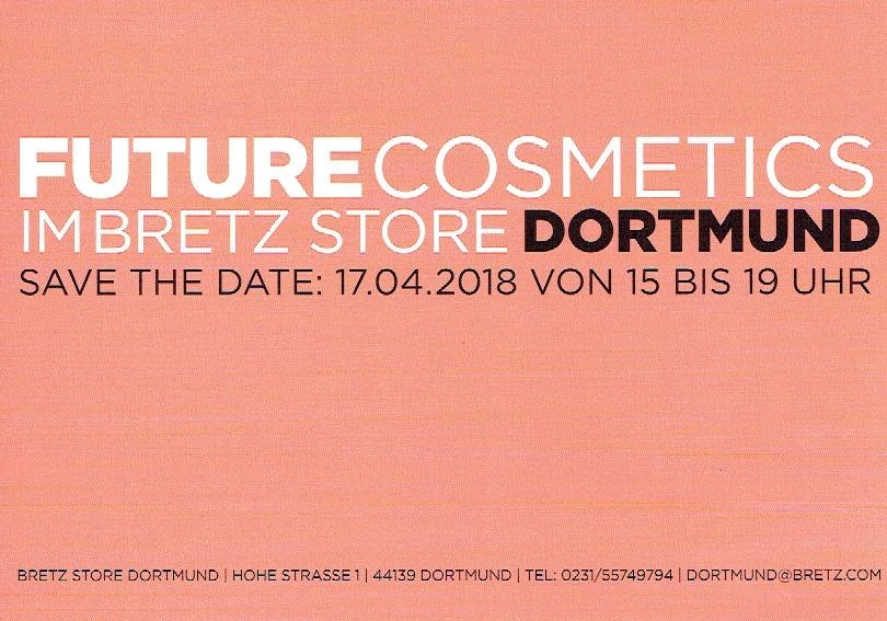 Beautyparty im Bretz Store Dortmund mit der Kosmetik von Dr Juchheim